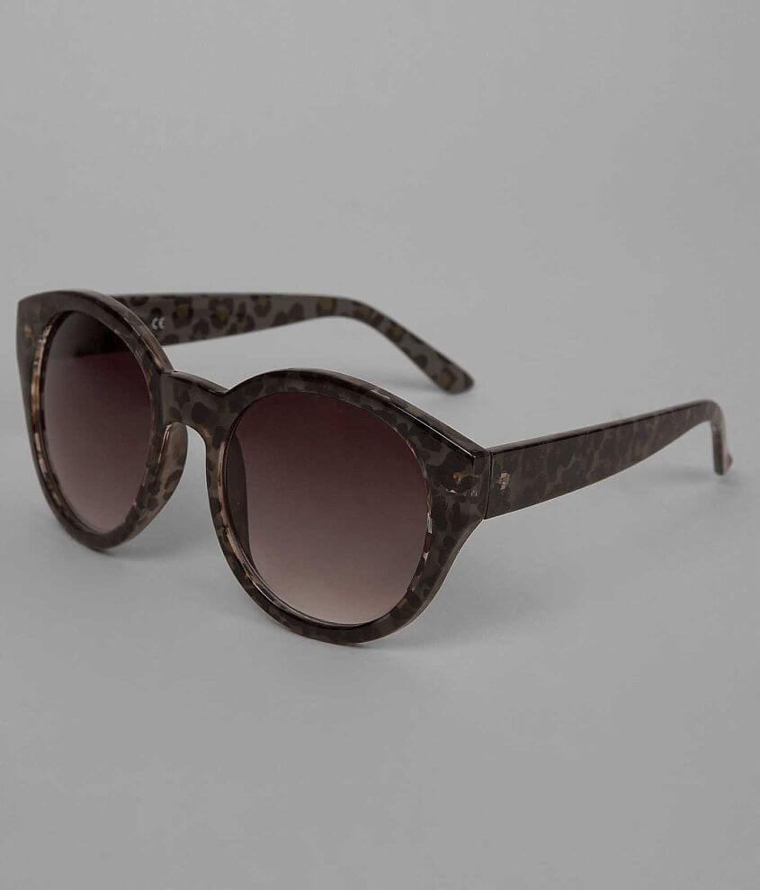 Daytrip Leopard Sunglasses front view