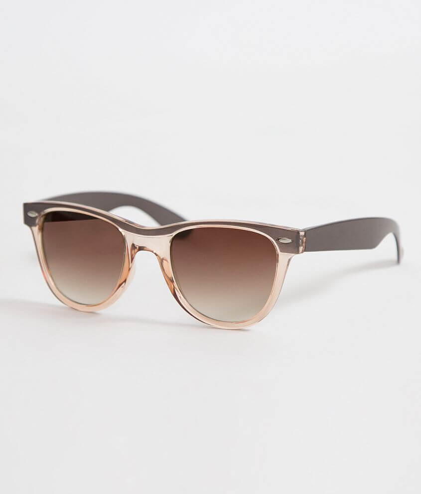 BKE Transparent Sunglasses front view