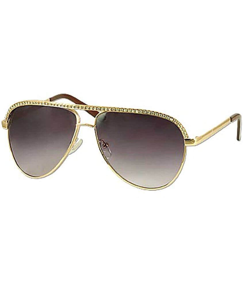 BKE Crystal Lucy Sunglasses front view