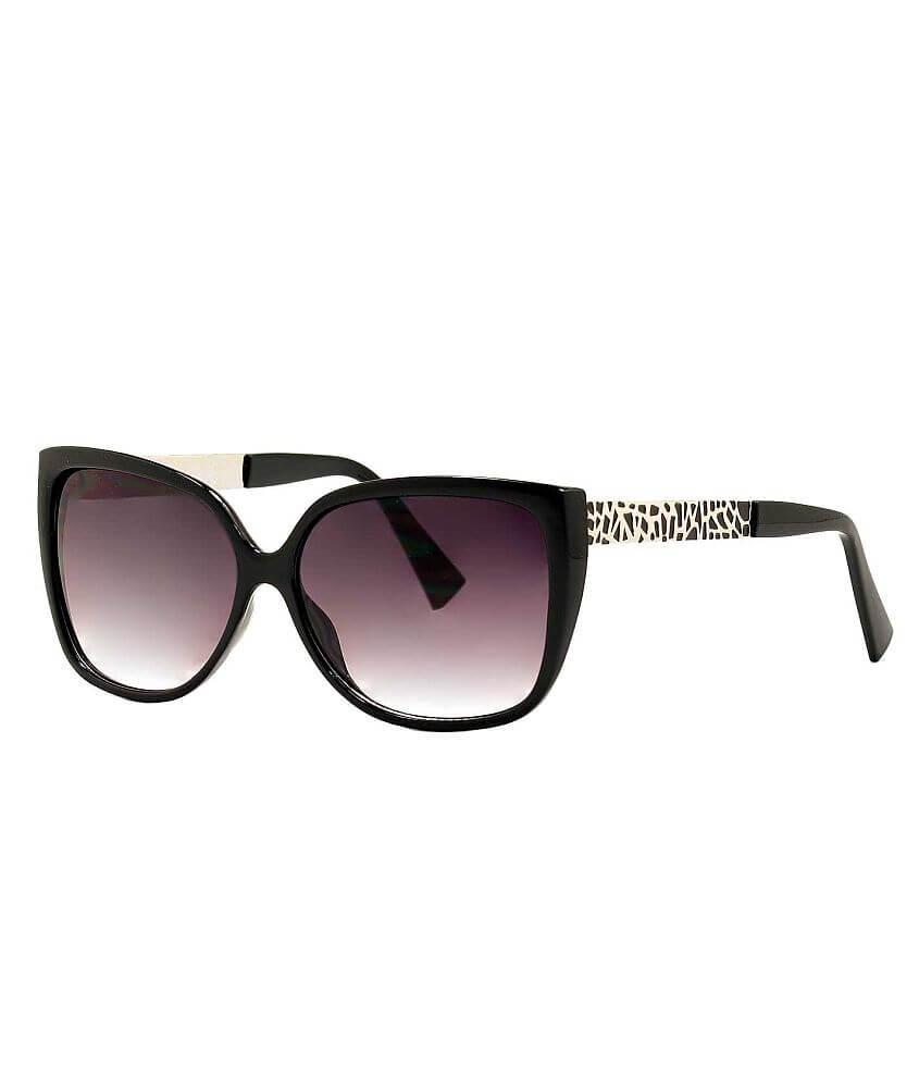 Daytrip Geometric Pattern Sunglasses front view