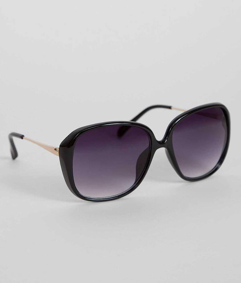 BKE Black Sunglasses front view