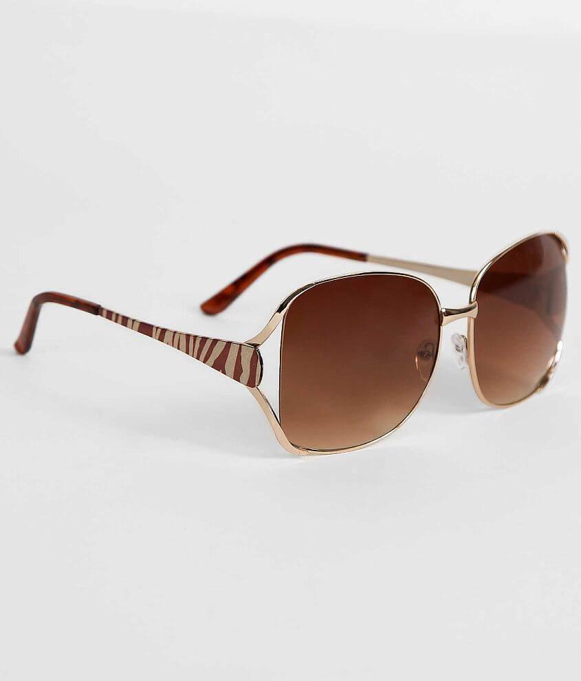 BKE Zebra Sunglasses front view