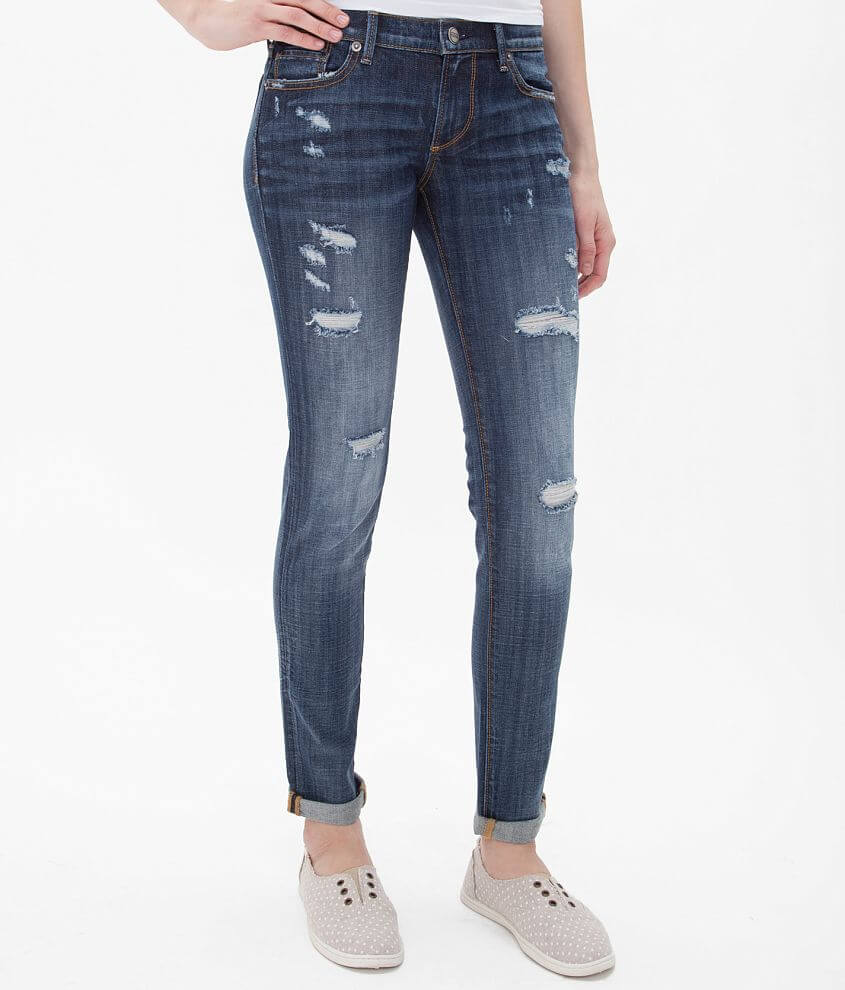 Driftwood Ankle Skinny Stretch Jean front view