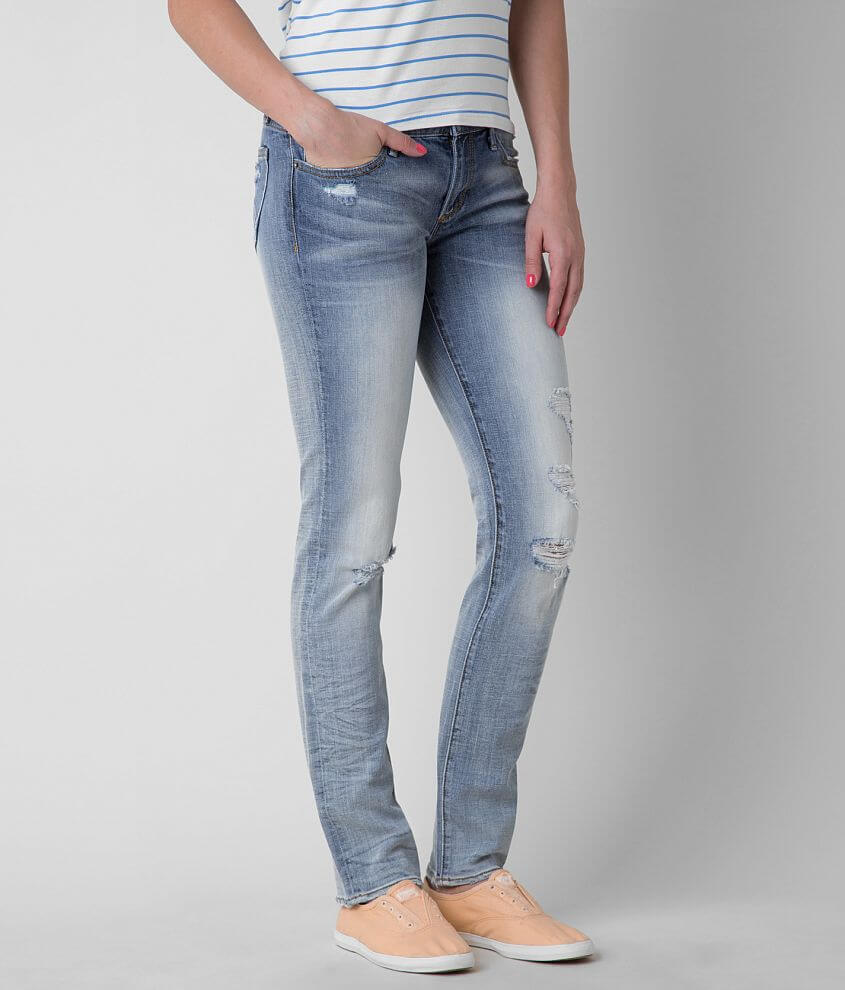 Driftwood Straight Stretch Jean front view