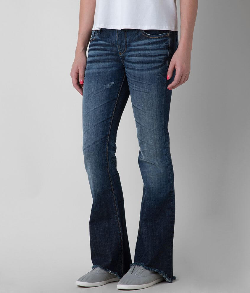 Driftwood Mid-Rise Flare Stretch Jean front view