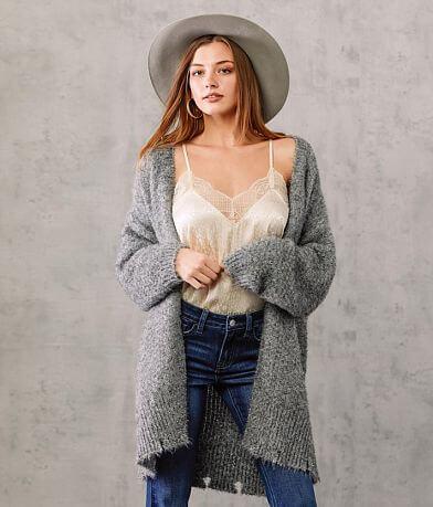 Willow & Root Tinsel Cardigan Sweater