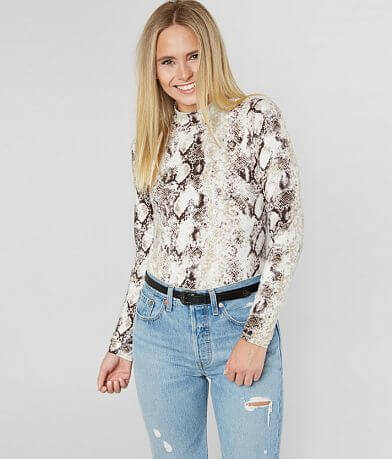 Willow & Root Snakeskin Top