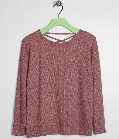 Girls - Daytrip Ribbed Fleece Top -Special Pricing
