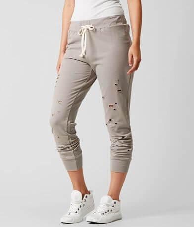 Modish Rebel Raw Edge Jogger Sweatpant