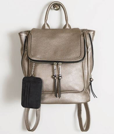 Violet Ray Metallic Backpack