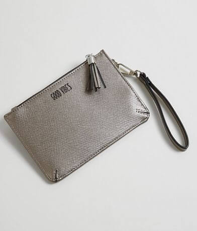 Violet Ray Good Vibes Wristlet Wallet