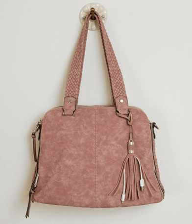 Violet Ray Braided Purse