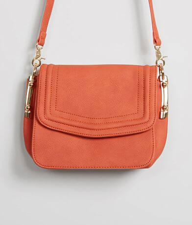 Violet Ray Structured Crossbody Purse
