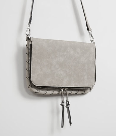 Violet Ray Distressed Crossbody Purse