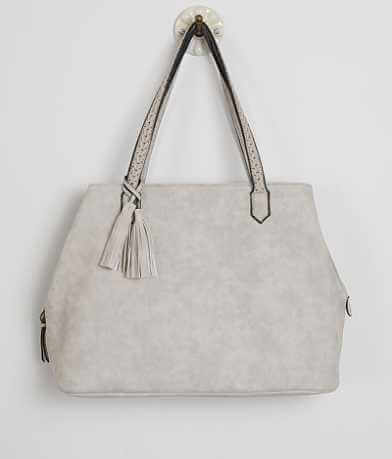 Violet Ray Distressed Purse