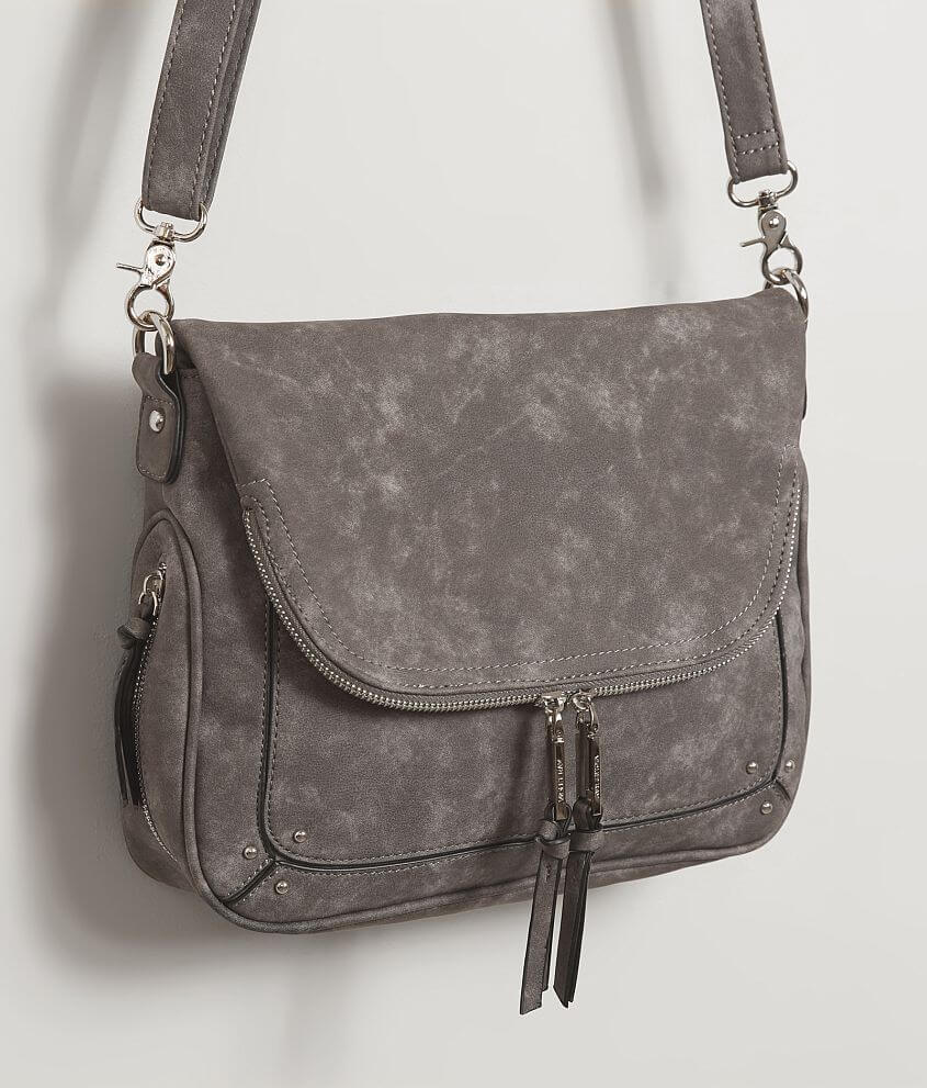 Violet Ray Crossbody Purse - Women s Accessories in Charcoal  05bd1392f45cb