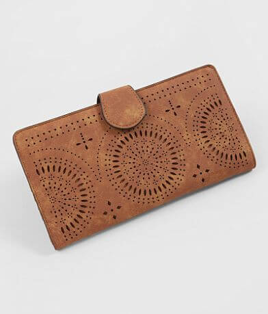 Violet Ray Perforated Wallet