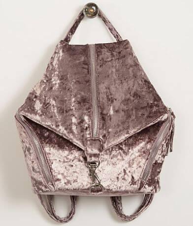 Violet Ray Velvet Backpack