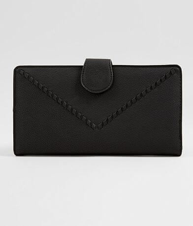 Violet Ray Solid Clutch Wallet
