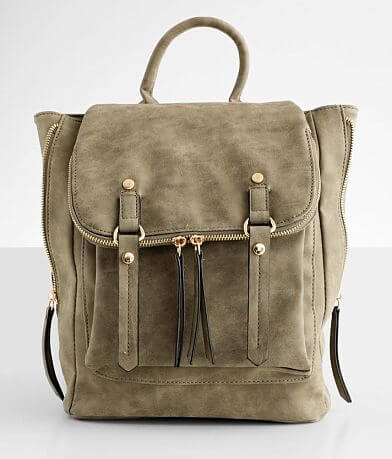 Violet Ray Distressed Backpack