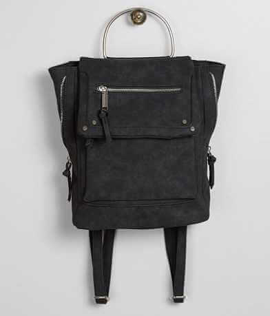 Violet Ray Faux Leather Backpack
