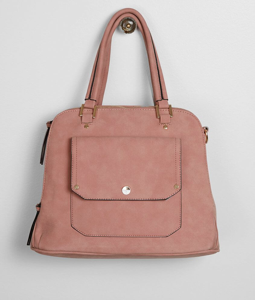 Violet Ray Faux Leather Purse - Women s Accessories in Blush   Buckle 88ce98f21e