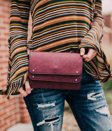 Violet Ray Double Flap Belt Bag