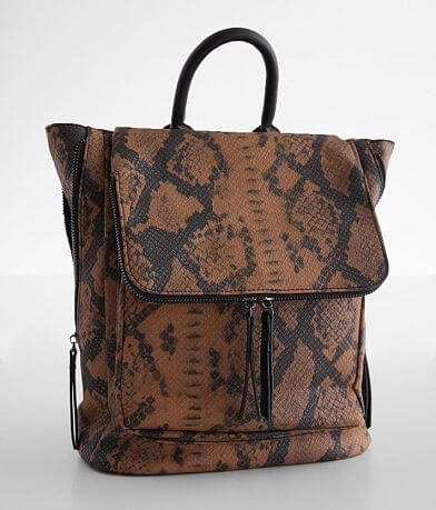 Violet Ray Kendall Snake Print Backpack