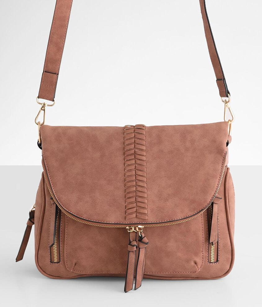 Violet Ray Kimmie Crossbody Purse front view
