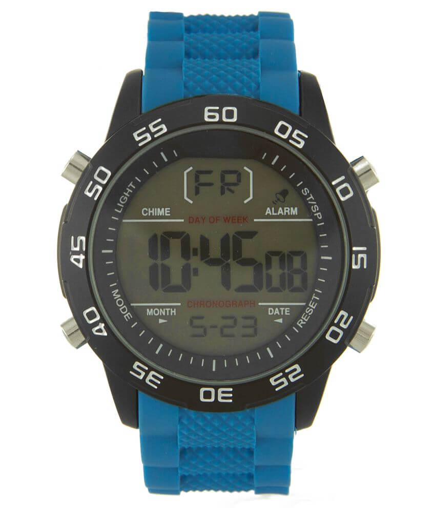 Accutime Silicone Watch front view