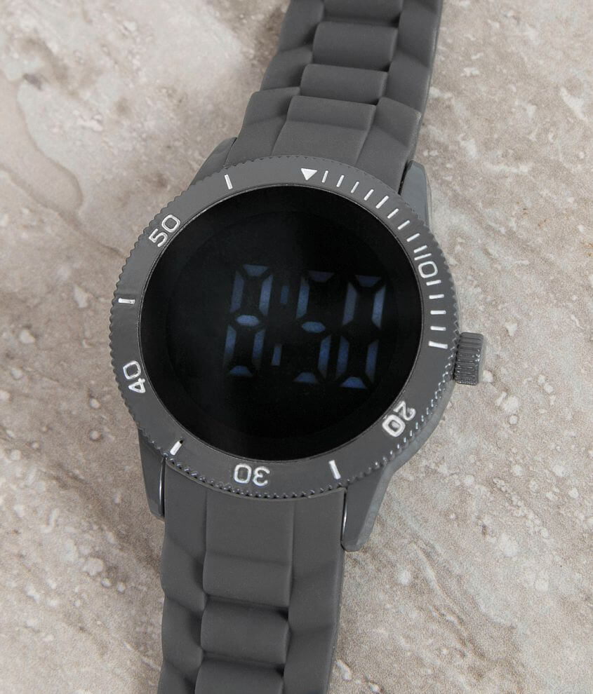 Accutime Blue Watch front view