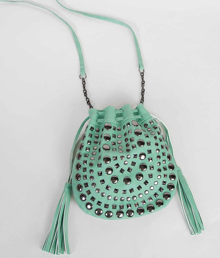 Studded Crossbody Purse front view