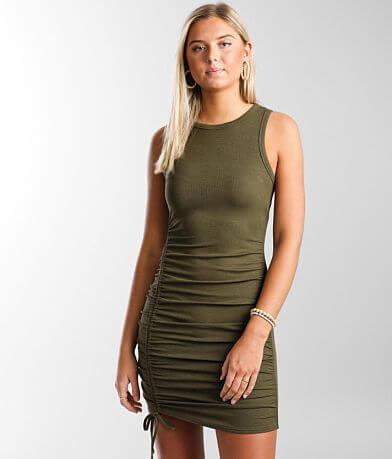 Daytrip Ribbed Knit Mini Dress