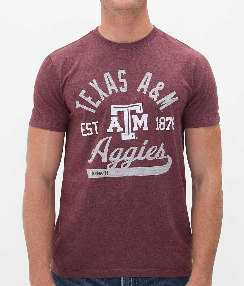 Hurley Texas A&M T-Shirt front view
