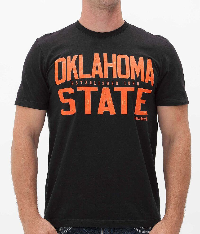 Hurley Oklahoma State Cowboys T-Shirt front view