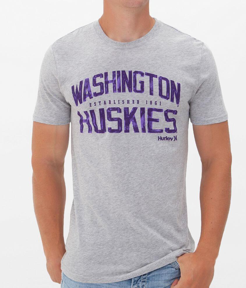 Hurley Washington Huskies T-Shirt front view