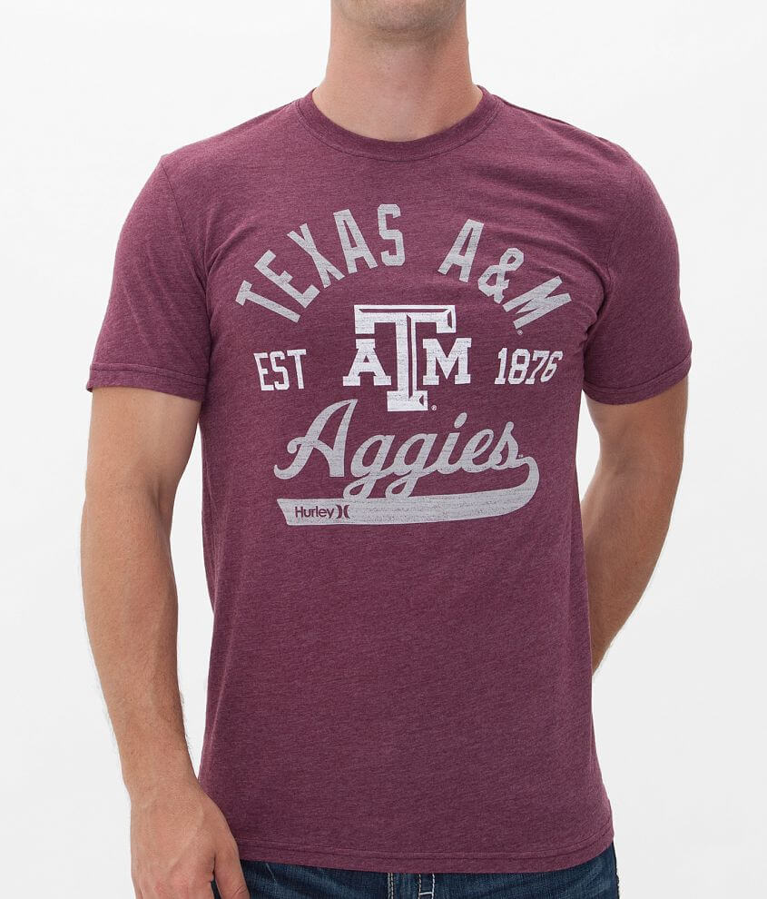 Hurley Texas A&M Aggies T-Shirt front view