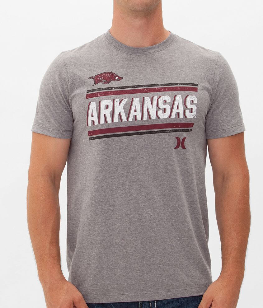 Hurley Arkansas Razorbacks T-Shirt front view