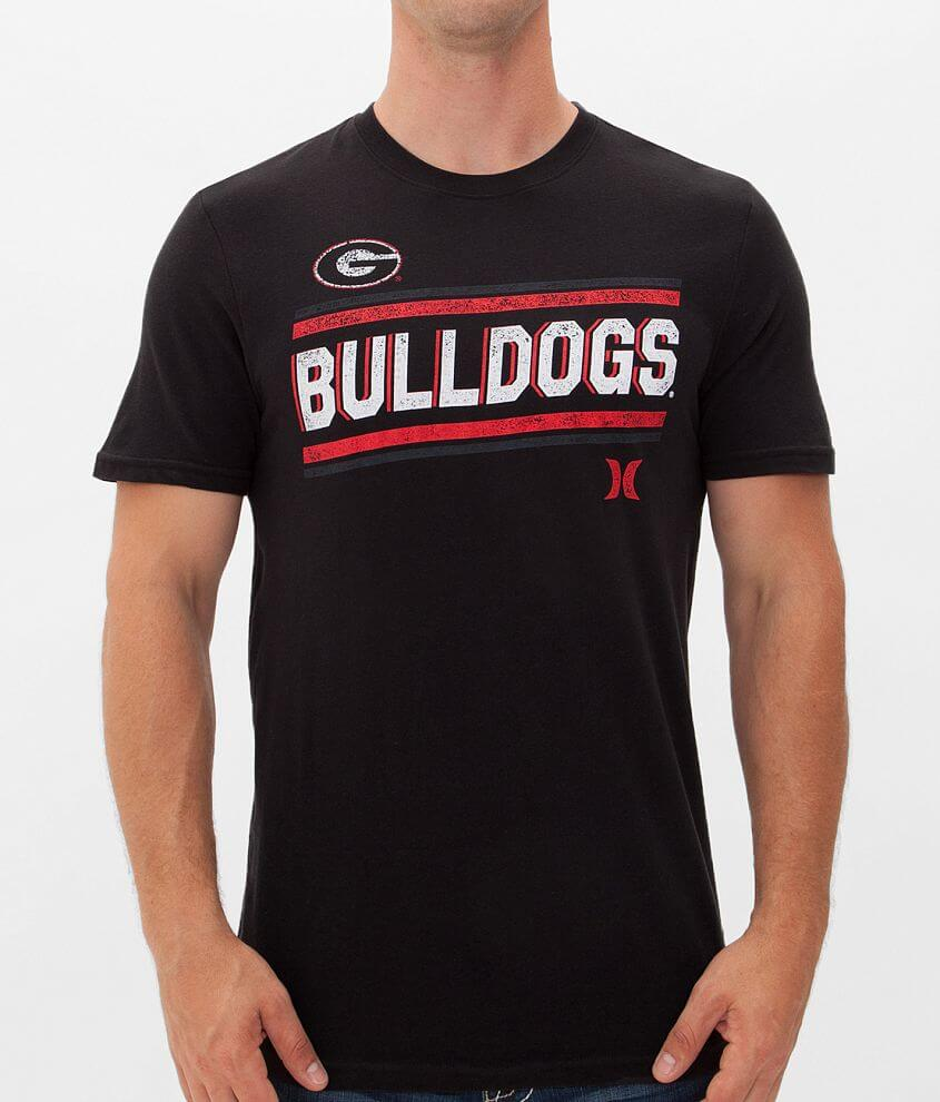 cheap for discount ccd20 ae11a Hurley Georgia Bulldogs T-Shirt - Men's T-Shirts in Blackout ...