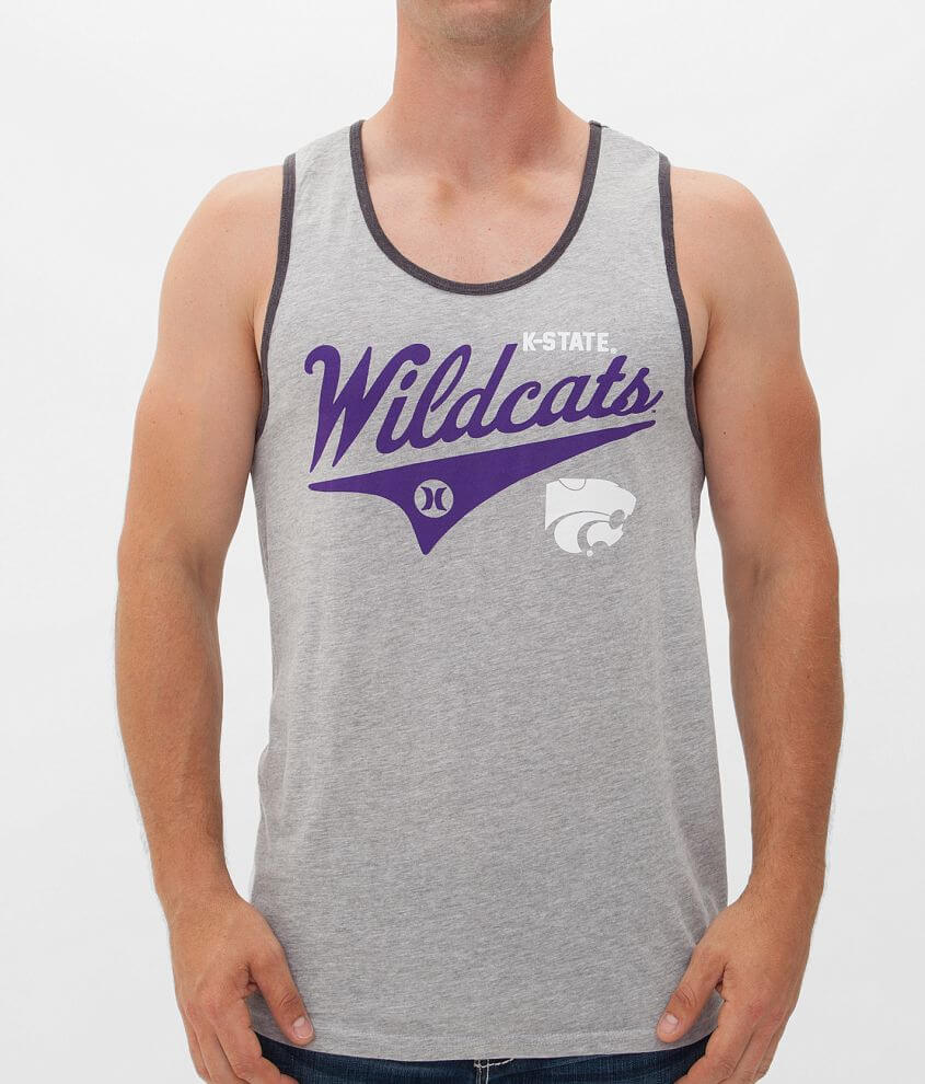 Hurley Kansas State Tank Top front view
