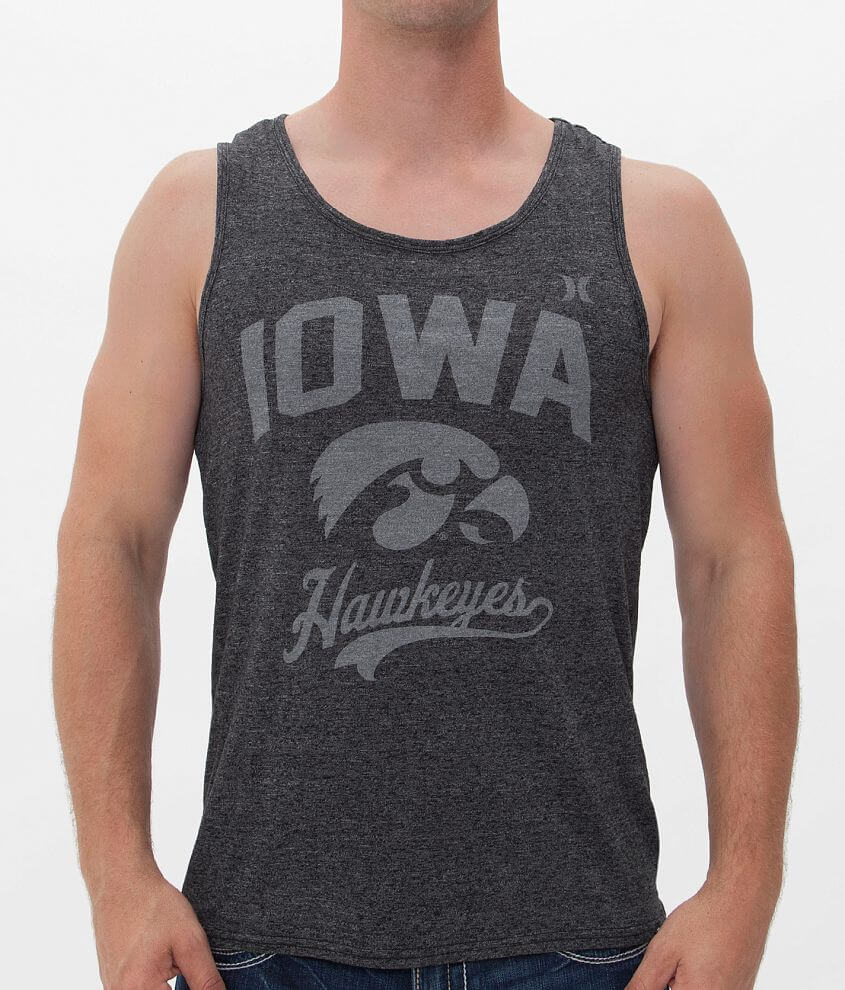 Hurley Iowa Hawkeyes Tank Top front view