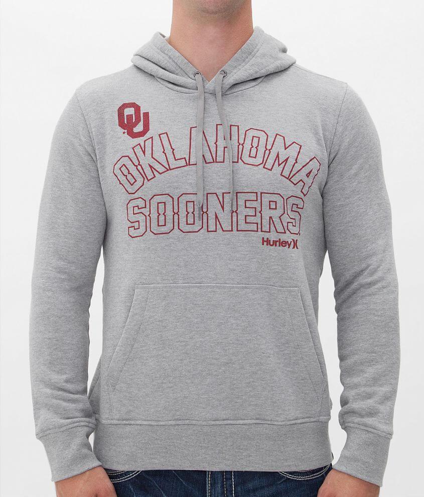 Hurley Oklahoma Sooners Sweatshirt front view