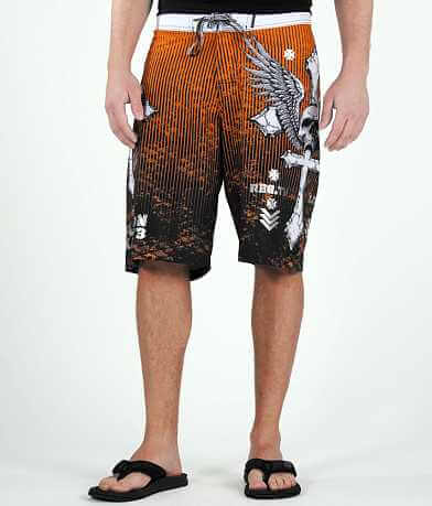 Affliction Tronic Boardshort