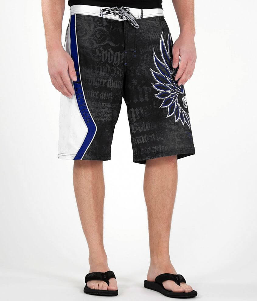 Affliction Micro Boardshort front view