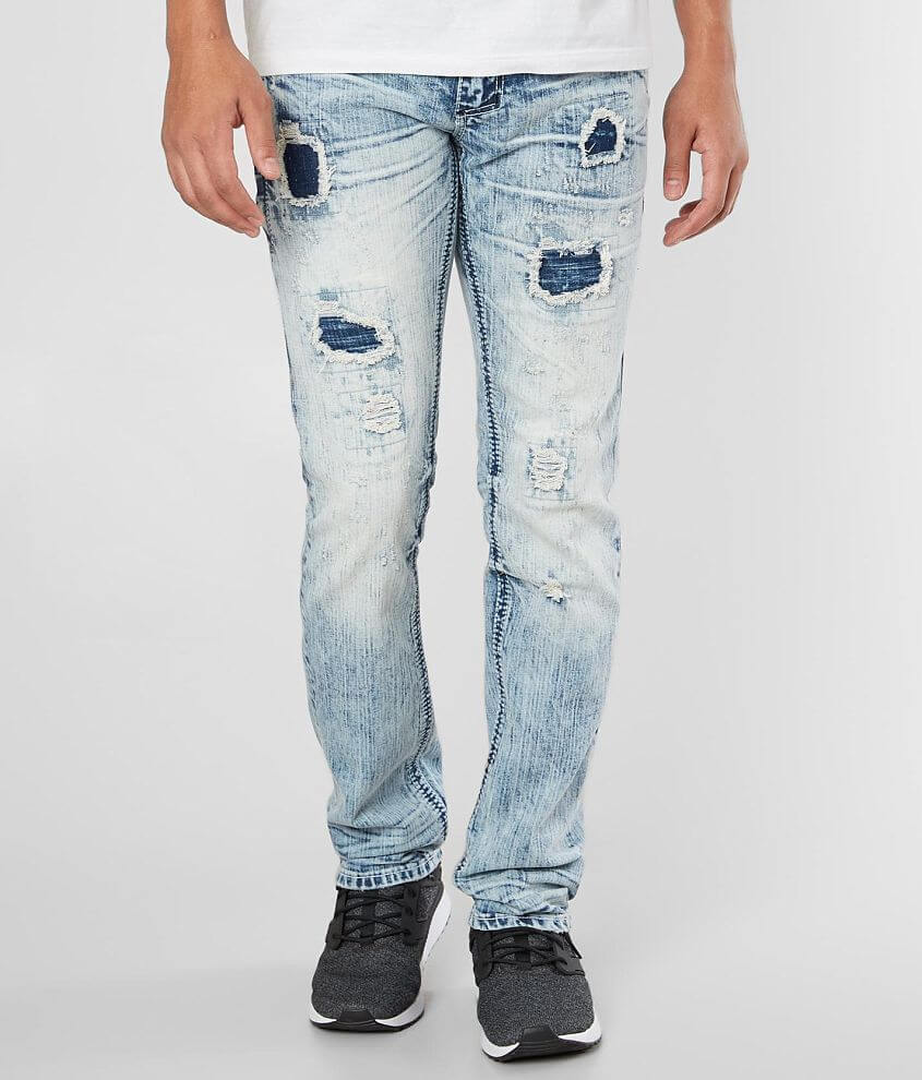 Affliction Gage Straight Jean front view