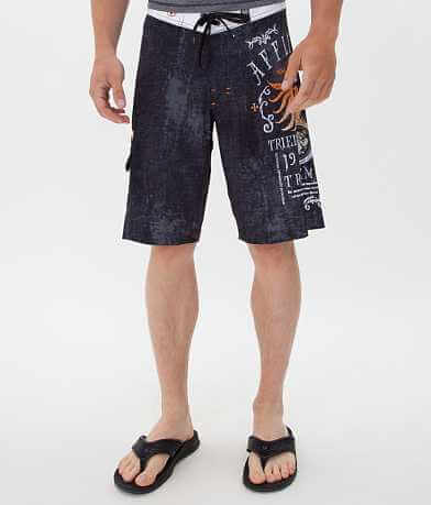 Affliction Black Premium Tried Truth Boardshort