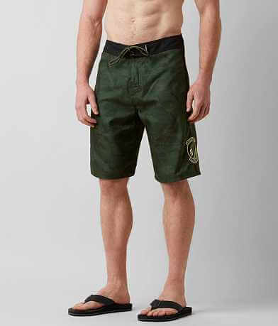 Affliction Black Premium Alpha Command Boardshort