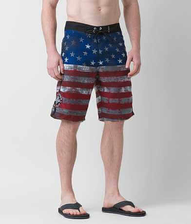 Affliction Black Premium National Boardshort