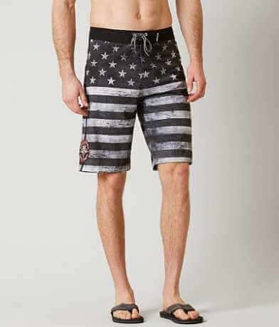 Affliction American Pride Stretch Boardshort