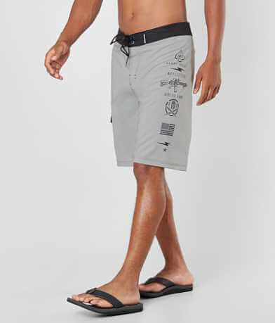 Affliction Black Premium Ready Boardshort